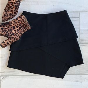 ASOS black mini skirt size 0